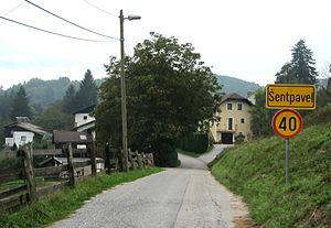 Šentpavel - Image: Šentpavel Ljubljana Slovenia