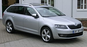 Škoda Octavia - Image: Škoda Octavia Combi III a (cropped)