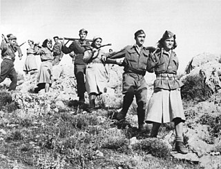 ELAS Militia arm of the primary Greek resistance movement against Axis occupation in WWII
