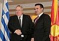 Επίσκεψη, Υπουργού Εξωτερικών, Ν. Κοτζιά στην πΓΔΜ – Συνάντηση ΥΠΕΞ, Ν. Κοτζιά, με Πρωθυπουργό της πΓΔΜ, Z. Zaev (23.03.2018) (27098674718).jpg