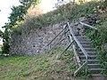 Выборг. Замок. Бастион и крепостной вал..JPG