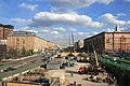Ленинградский проспект во время реконструкции.JPG