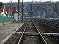 На станции Олехновичи. Olehnovichi station. - panoramio.jpg
