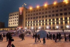 Zlatoust - New Year's Square, Zlatoust