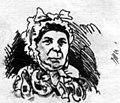 """Н. П. Чехов, карикатура """"Свадебный сезон"""" (Посажёная мать жениха), 1881г.jpg"""