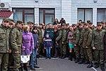 Президент України Петро Порошенко привітав молодих офіцерів з випуском 772 (16944767651).jpg