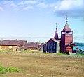 Старинная часовня в селе Лижма. (фото 1916 года^^^).Фотограф-Прокудин-Горский. - panoramio.jpg
