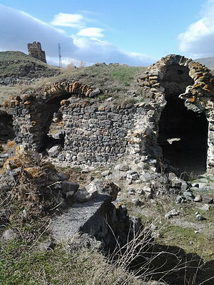 Stepanavan - The remains of the fortress dating back to the 3rd millennium BC