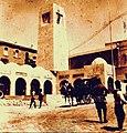 כיכר מגדל השעון והמרכז המסחרי שהוקם על ידי הבריטים בכיכר אלנבי.jpg