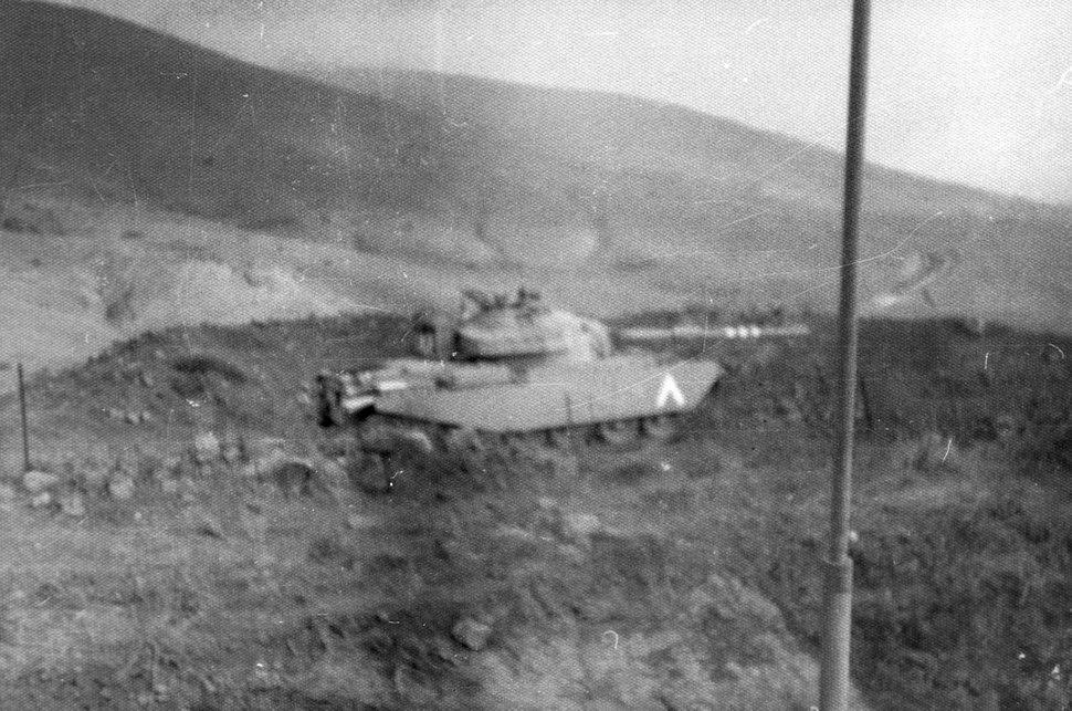 ניר קרן צבי - מלחמת יום כיפור - קרב עמק הבכא (8)