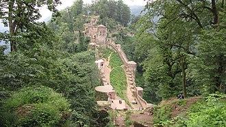 Nizari Ismaili state - Image: قلعه رودخان1