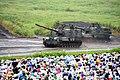 前段1・遠距離火力4-4 99式自走155mmりゅう弾砲進入 富士総合火力演習・そうかえん 30.jpg