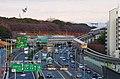 大阪モノレールと中国自動車道 Ōsaka Monorail Main Line and Chūgoku Expressway 2013.12.23 - panoramio.jpg