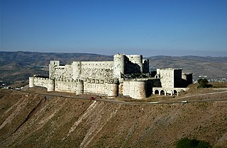 Concentric castle fortification