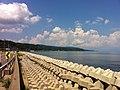 氷見の海岸道路から望む富山湾(Toyama Bay to see from the shore road of Himi) - panoramio (3).jpg