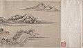 清 柳堉 幽谷深林圖 卷-Remote Valleys and Deep Forests MET DP210917.jpg