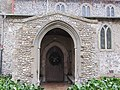 -2018-12-15 Entrance porch, Saint Margarets parish church, Witton, Norfolk.JPG