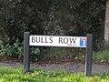 -2019-12-01 Street sign Bull's Row, Northrepps, Norfolk.JPG