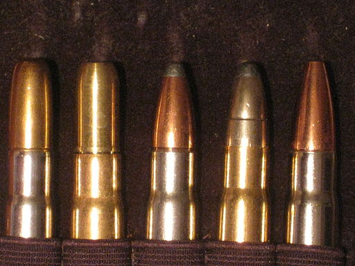 .375H&H Cartridges of 5 Different Types