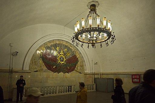 0012 - Moskau 2015 - Metrostation Komsomolskaja (26397563105)