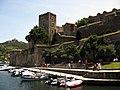 004 Castell Reial, façana est, torre gòtica.jpg