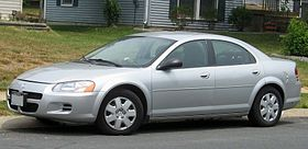 The Dodge Stratus is a 4-Door Sedan in the Mid-size class, built from 2000-2006.