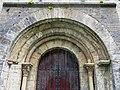 083 Sant Pere de Camprodon, portalada.JPG