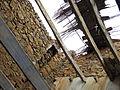 089 Casalot abandonat de Marmellar, sostre ensorrat.JPG