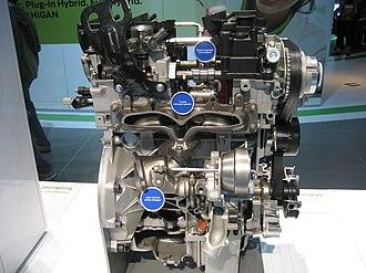 Ford EcoBoost engine - Image: 1.6ecoboostturboside