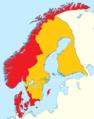 1. 1523 Norden Frederik II krones og nordlige del af Bohuslen gives til SE.png