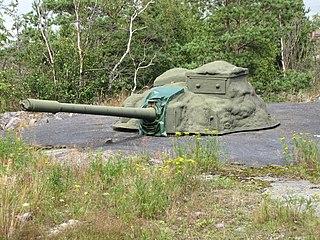 100 56 TK artillery gun