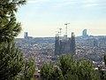 106 La Sagrada Família des del parc del Guinardó.JPG