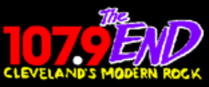 WENZ - 107.9 The End logo
