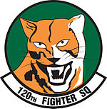 120th Fighter Squadron emblem