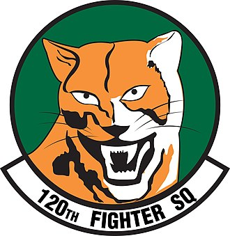 120th Fighter Squadron - Image: 120th Fighter Squadron emblem
