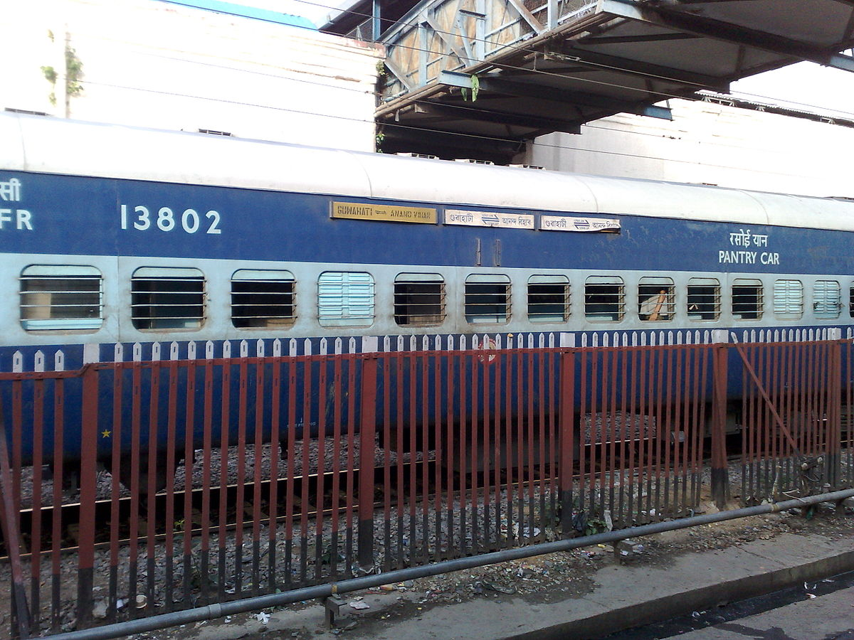 Car That Start With D >> Guwahati Anand Vihar Terminal North East Express - Wikipedia