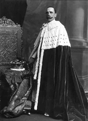 Archibald Hay, 13th Earl of Kinnoull - Earl of Kinnoull, on the coronation of Edward VII, 9 August 1902