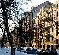 15 Linia V O buildings 20 and 18 and 16 (snowdrift at March).jpg
