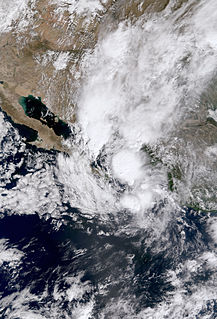 Tropical Depression Sixteen-E (2004) Pacific tropical depression in 2004