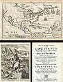 1688 Hennepin First Book and Map of North America (first printed map to name Louisiana) - Geographicus - NieuwVrankryk-hennepin-1688.jpg