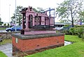 1821 Marine side lever engine, Dumbarton Maritime Museum.jpg