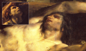 The Barque of Dante - Géricault's The Raft of the Medusa  was a powerful influence for Delacroix.