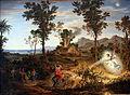1834 Koch Landschaft mit Bileam anagoria.JPG