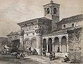 1844, España artística y monumental, vistas y descripción de los sitios y monumentos más notables de españa, vol 2, San Miguel de Guadalajara (cropped).jpg