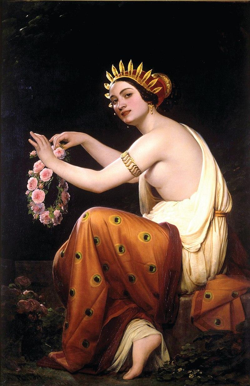1845. Греческая цветочница.jpg