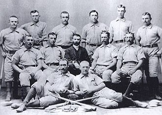 1884 Columbus Buckeyes season - Team photograph