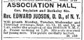 1886 AssociationHall BostonDailyGlobe Sept10.png