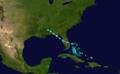 1898 Atlantic hurricane 1 track.png