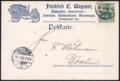 1903-04-17 Friedrich C. Wagener Hannover Postkarte Vordruck Fahrräder Nähmaschinen Motorwagen Opel, Adressseite Automobil.png