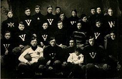 1903 VMI Keydets football team.jpg